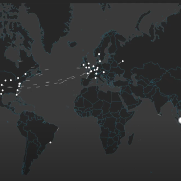 Live map on Nucleon Smart Endpoint EDR
